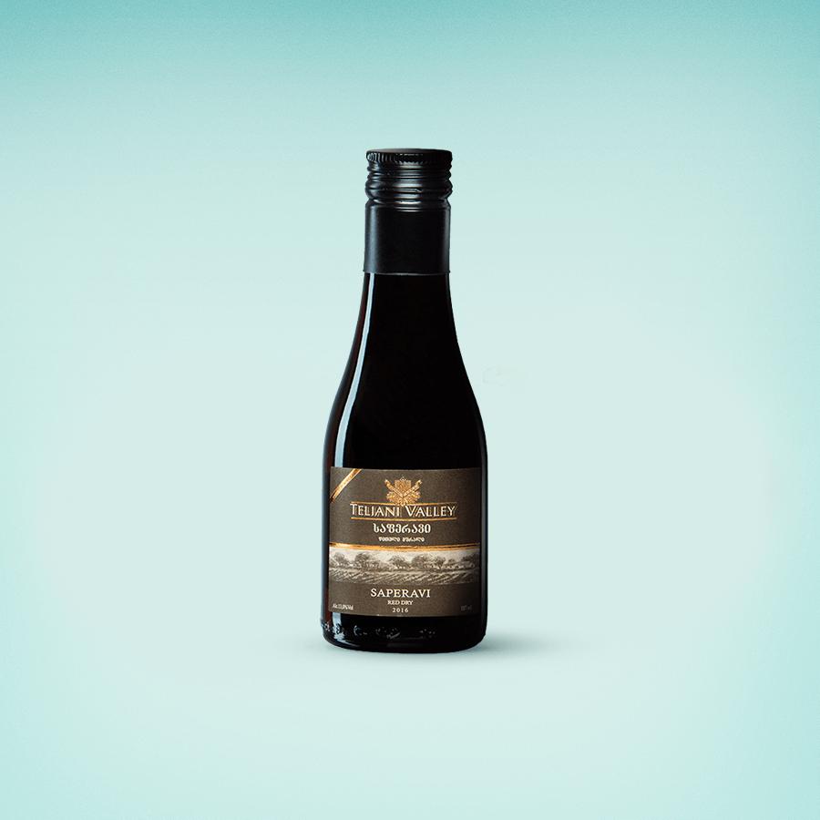 ღვინო საფერავი 0.187 მლ