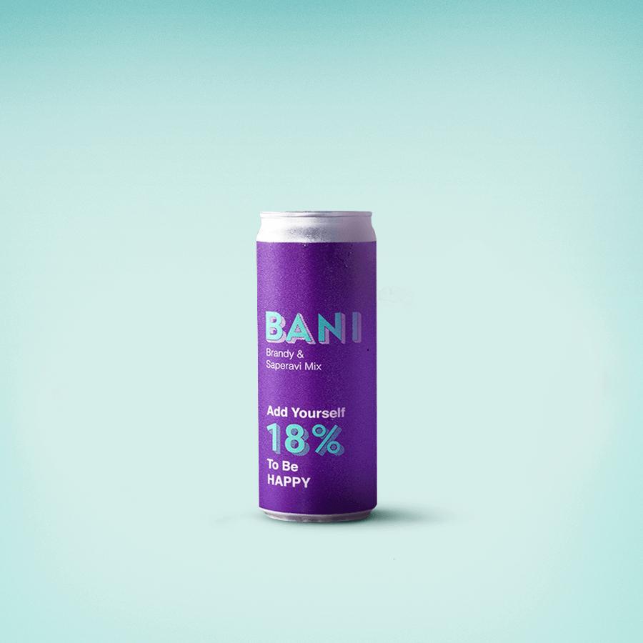 Bani Brandy & Saperavi Mix